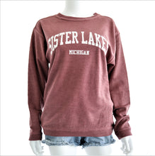 Load image into Gallery viewer, Sister Lakes Corduroy Sweatshirt