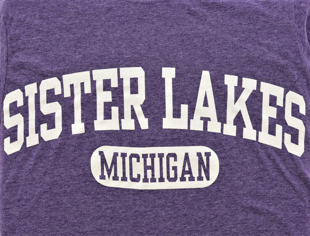 Sister Lakes Large Print T-shirt (4 Colors)