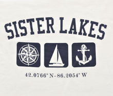 Load image into Gallery viewer, Sister Lakes Triple Print Long Sleeve T-shirt (3 Colors)