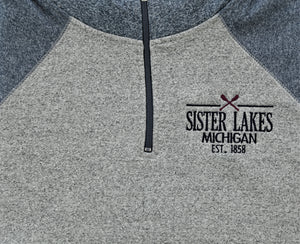 Sister Lakes Two Tone Quarter Zip (2 Colors)