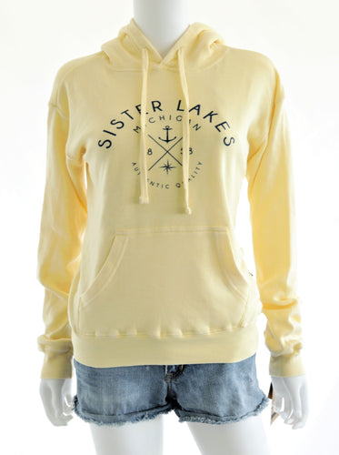 Sister Lakes Burnout Fleece Hoodie (2 Colors)