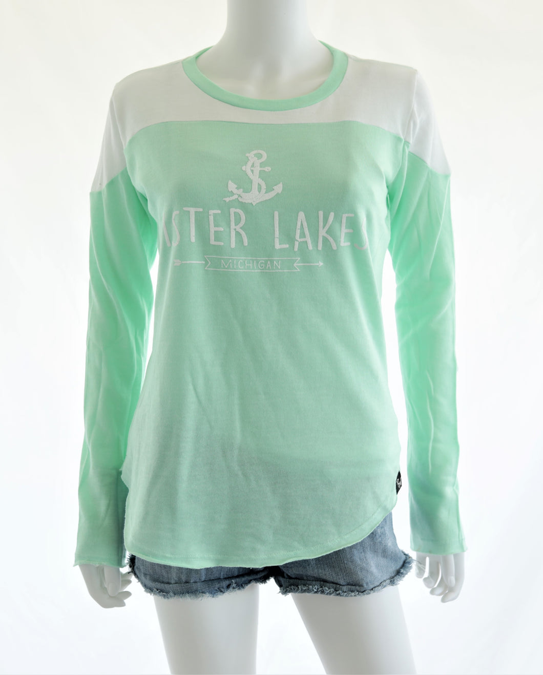 Loop Terry Two Tone Long Sleeve (2 Colors)