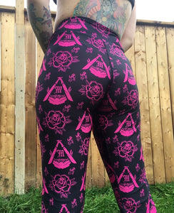 Mandible Rose tights