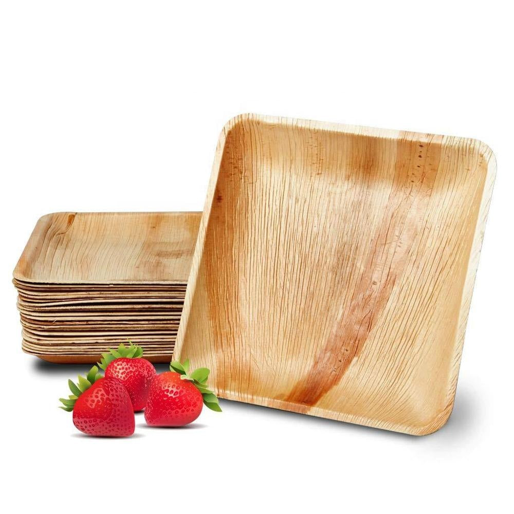 Palm Leaf Square - Plates Set - Vedessi