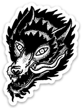 Load image into Gallery viewer, The Wolf Sticker