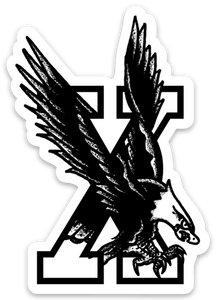 "3"" Edge Eagle Vinyl Sticker"