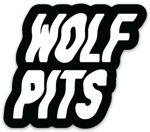 Wolf Pits Logo Sticker