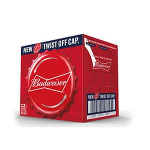 Budweiser 12x330ml Twist Off Cap