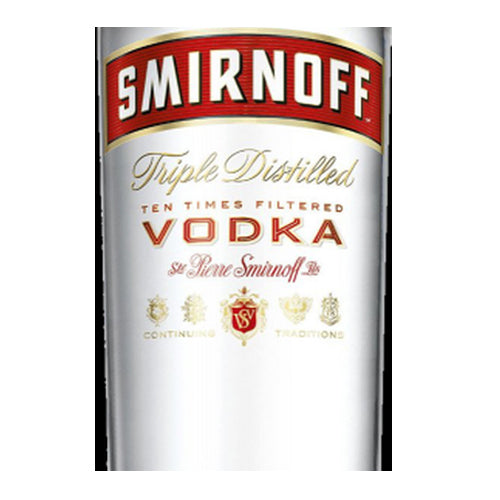 Smirnoff Red Label Vodka, 70cl