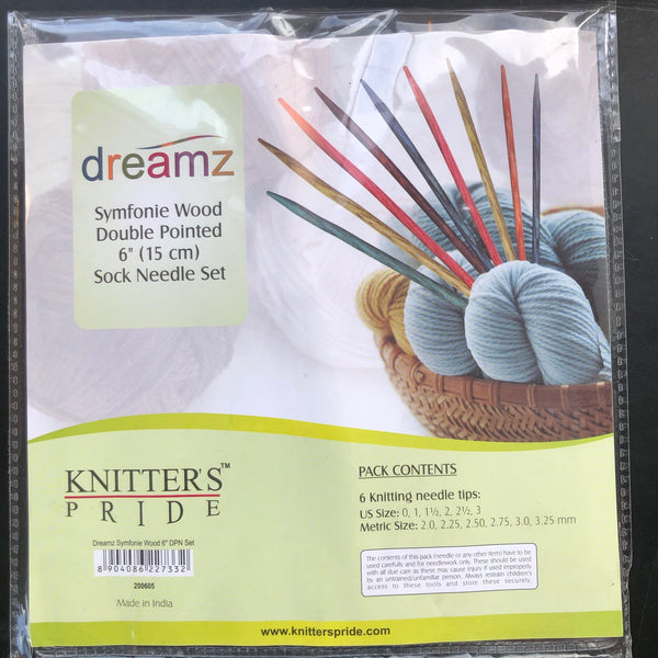 Dreamz Double-Pointed Sock Needle Set