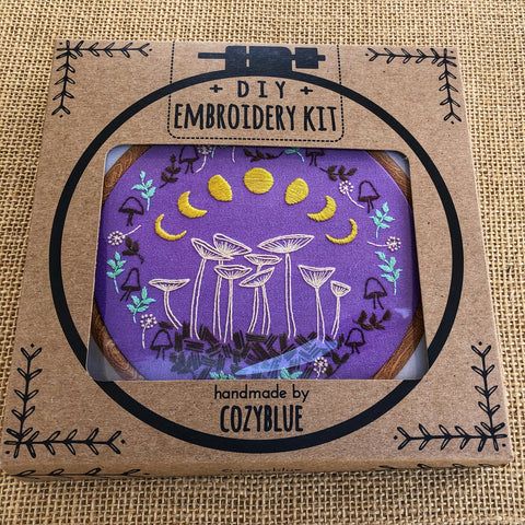 Cozy Blue Embroidery Kit