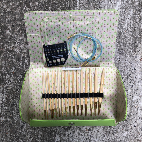 Addi Click Bamboo Interchangeable Needle Set
