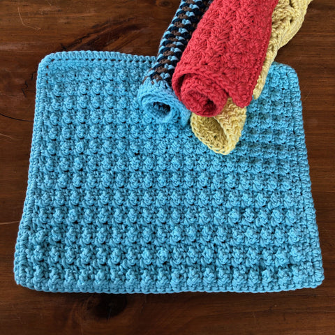Spa Day Facecloth Pattern