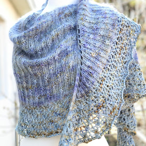Droplet Shawl Pattern