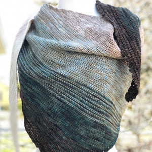 Shell Seeker Shawl Pattern
