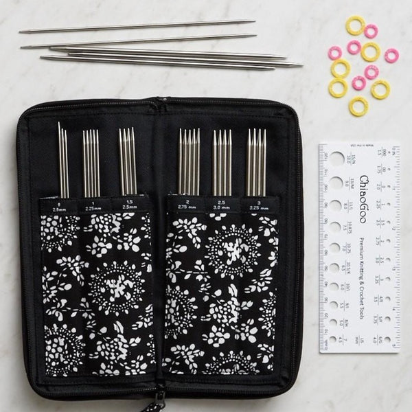 Stainless steel Double Point Sock Needle Set