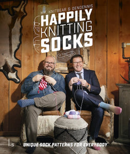 Pre-Order: Happily Knitting Socks