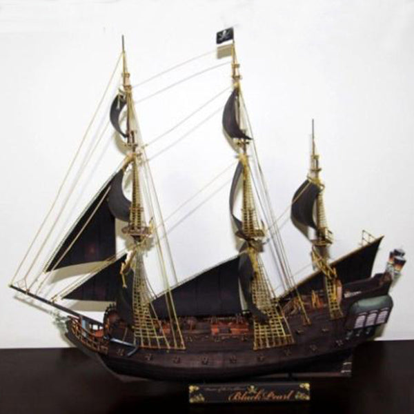 Black Pearl papier model