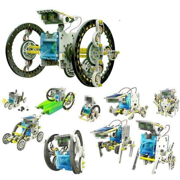 13 in 1  zonne-energie robot kit.