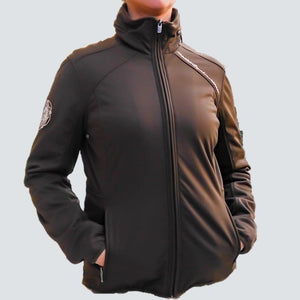 Equiline Softshell Jacke Laurel Damen braun XL