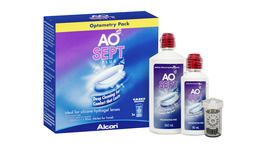AOSept Plus Hydrogen Peroxide Contact Lens Solution - Value pack