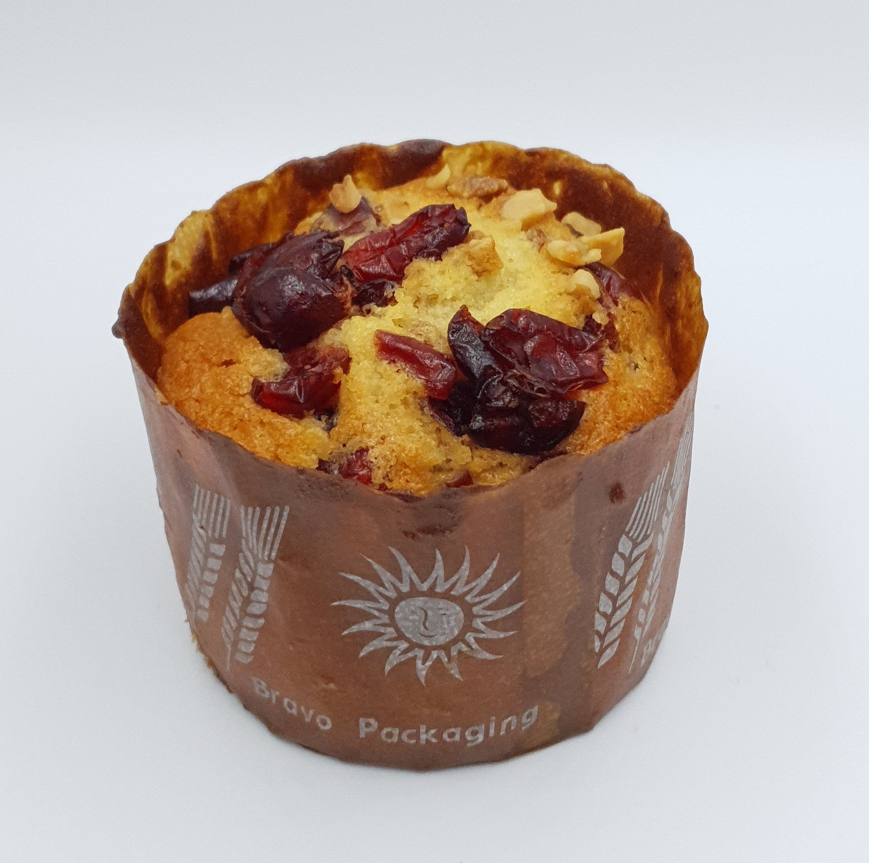 Walnut Cranberry Muffin