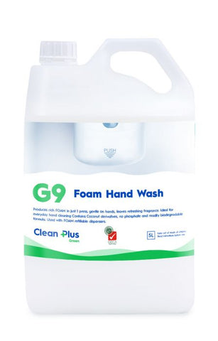 G9 - FOAM HAND WASH  5LTR