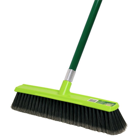 Sabco 450mm Premium Indoor Push Broom With Built In Scraper