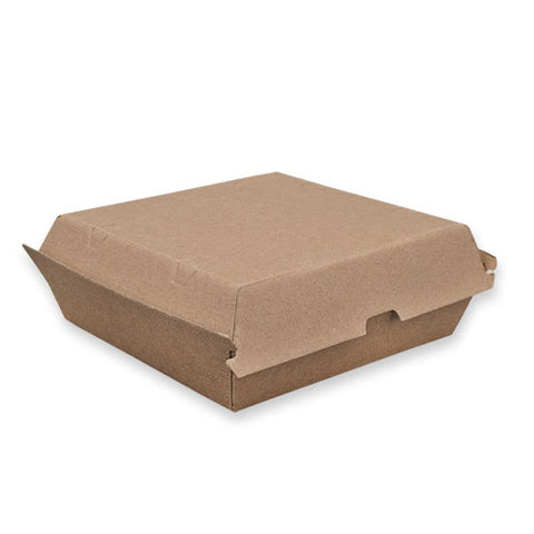 TP Paper Board Dinner Box - 178 x 160 x 80mm - Kraft