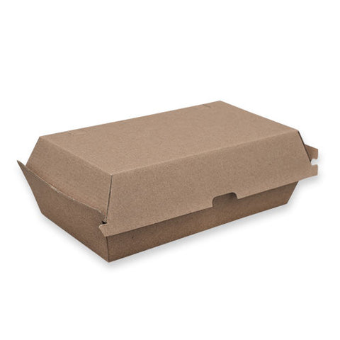 TP Paper Board Snack Box Large - 205 x 107 x 77mm - Kraft