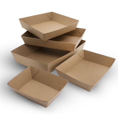 TP Alfresco Paper Board Kraft Trays