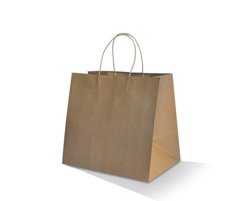 PT Brown Kraft Takeaway Bag - 320 x 350 x 230mm  - 150pc/ctn