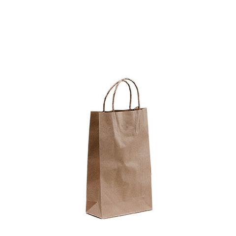TP Brown Kraft Paper Bags with Twisted Handle