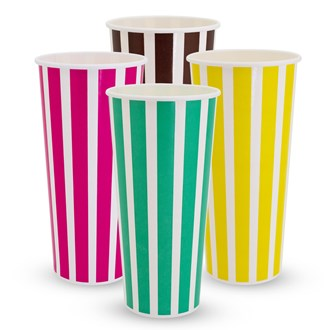 TP Cold Drink Cups - Candy Stripe