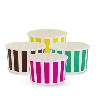 TP Ice Cream Cups - Candy Stripe