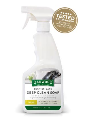 Oakwood Leather Care Deep Clean Soap - 500ml