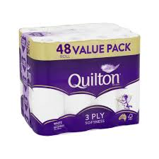 SUPER SPECIAL - Quilton Toilet Tissue - Value Pack - 48 Rolls