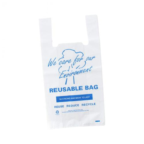 MaxValu Printed Reusable Heavy Weight Singlet Bags