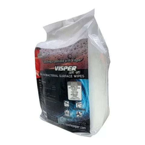 Rosche Visper Ultra Antibacterial Surface Wipes - 250 Sheet - 1 Roll