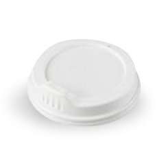 GF Takeaway Coffee Cup Sipper Lid - White