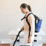 PacVac Velo Cordless - Battery Backpack Vacuum Cleaner