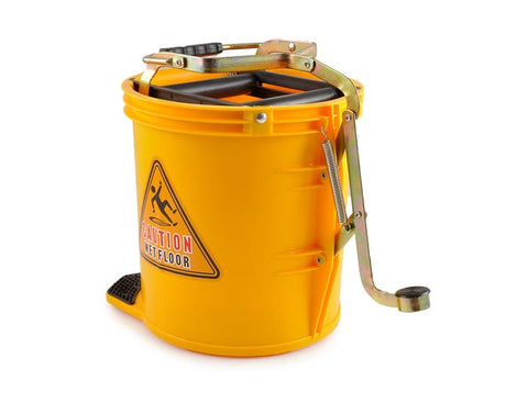 Mop Bucket (16L) Yellow