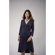 Kleid LOLA  in Dunkelblau / Evening Blue - Mom&More