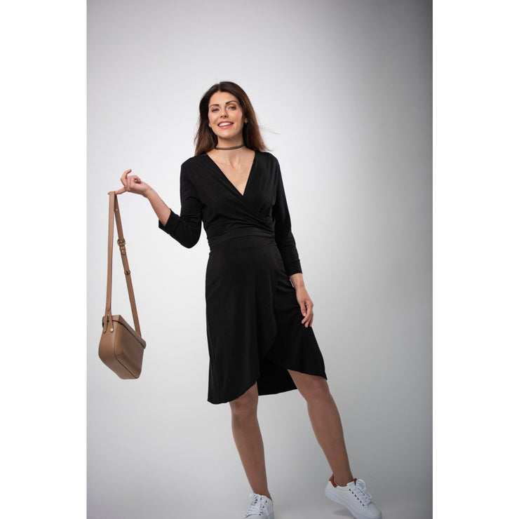 Kleid LOLA in in schwarz / Black - Mom&More