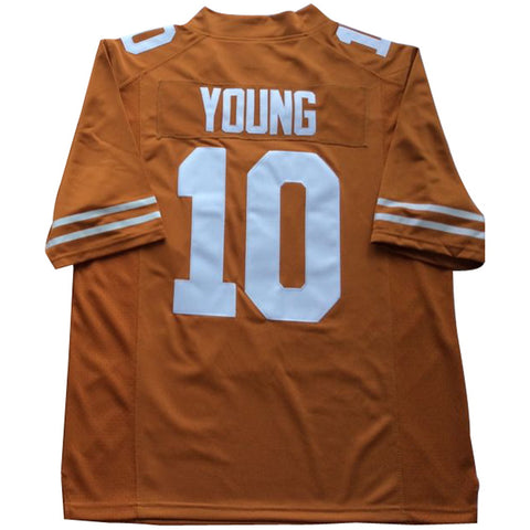 Orange #10 Vince Young   短袖 运动衫