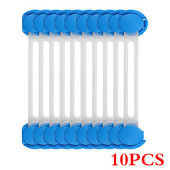 10Pcs/Lot Child Lock Protection - Safety Plastic protection - Bloomy Mommy Shop