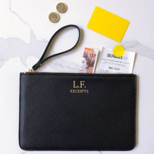 Personalised Travel Clutch