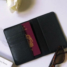 Load image into Gallery viewer, Mens Luxury Initial Passport Holder
