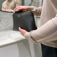 Load image into Gallery viewer, Mens Personalised Washbag Roman Initials