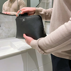 Mens Personalised Washbag Roman Initials